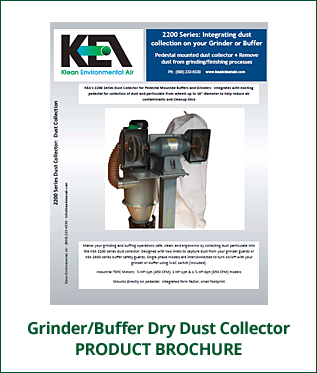 Product Brochure - Dry Dust Collector - Buffers & Grinders