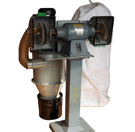 Dry Dust Collector - Grinder-Buffer System