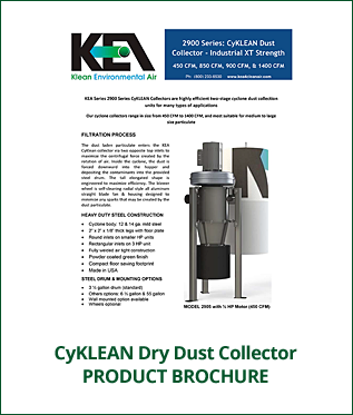 CyKLEAN Industrial Dry Dust Collector