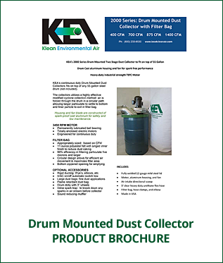 Product Brochure - Drum Mounted Dry Dust Collector